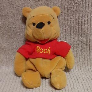 Disney Plush Beanie Winnie the Pooh